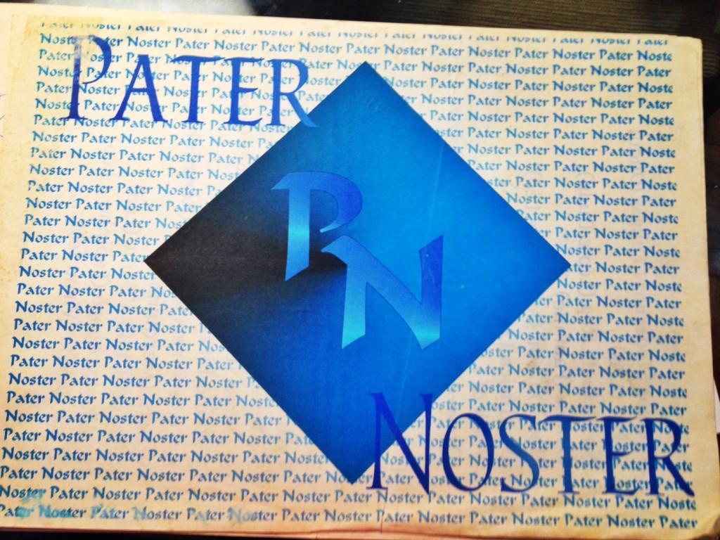 Logo da Pater Noster - primeiro nome dos Primos